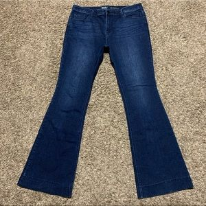 Missing High Rose Flare Jeans W16 L33